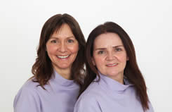 Dentists Maxine and Hannah